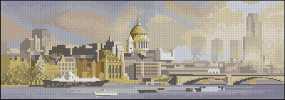 Панорама John Clayton - Окрестности Лондона
