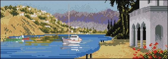 Панорама John Clayton - Средиземноморская бухта