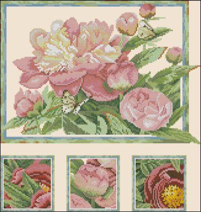 Lanarte Цветы Пионы