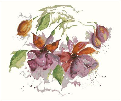 Lanarte Цветы Фуксия