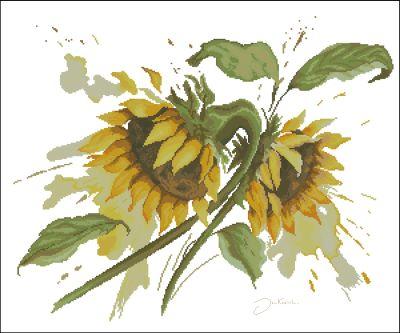 Lanarte Цветы Подсолнухи