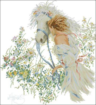 Lanarte Девушка с лошадью