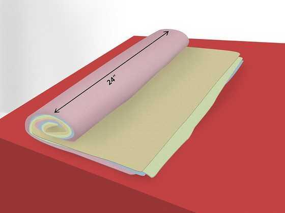 Декоративная мягкая подушка-валик