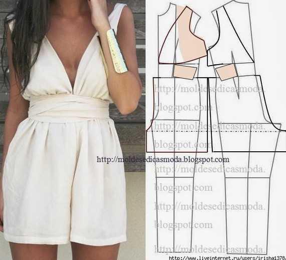 Выкройка женского комбинезона на лето подкладочная ткань на синтепоне купить в москве